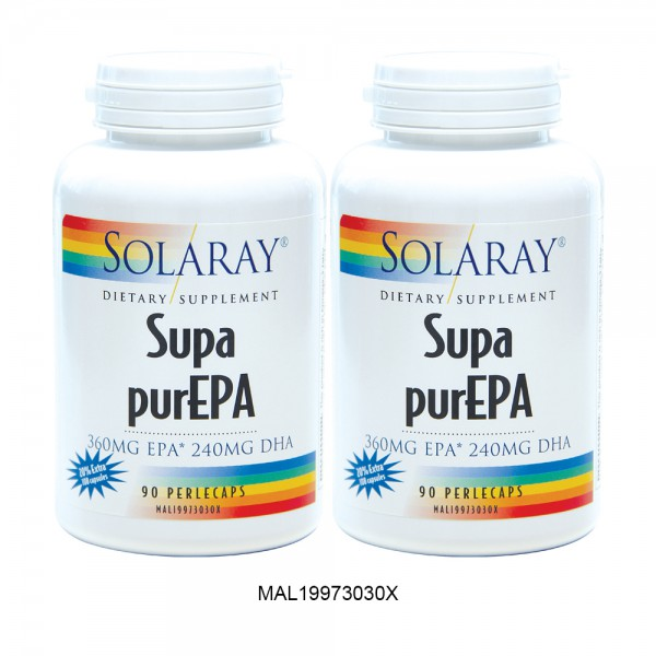 SOLARAY SUPA PUR EPA EXTRA 20% TWINPACK VALUE BUY BOX (MAL19973030X)